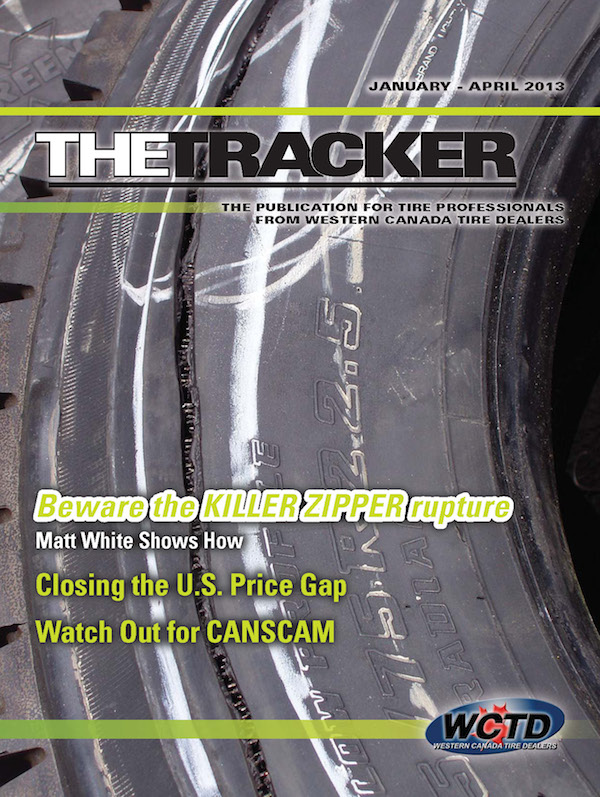 WCTD The Tracker, the magazine for Western Canadian Tire Professionals | Western Canada Tire Dealers