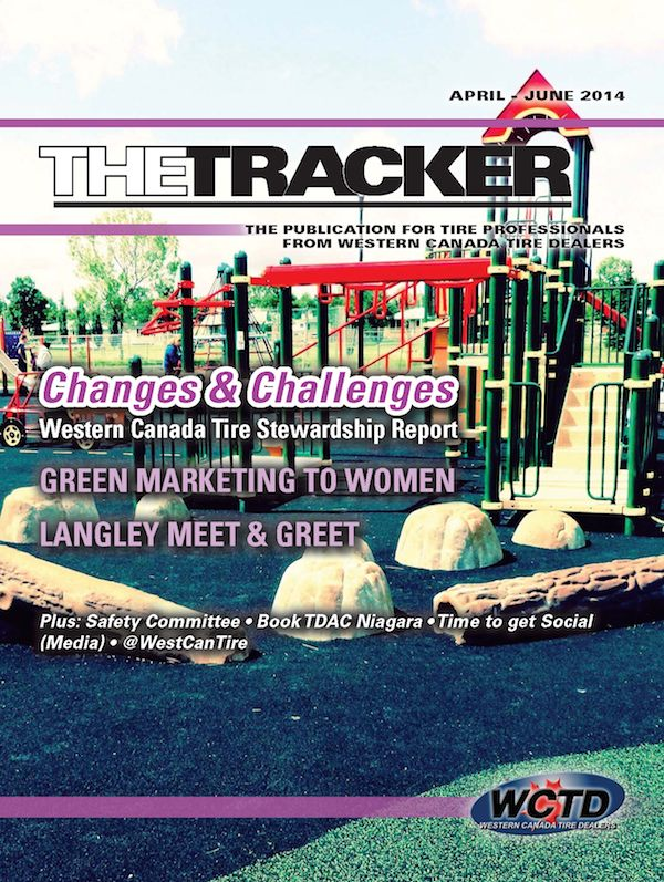WCTD The Tracker, the magazine for Western Canadian Tire